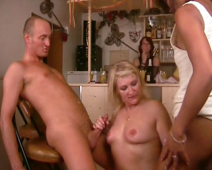 Porno Video of European Swingers Look On As Two Mature Bitches Get Frisky