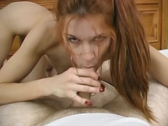Porno Video of Fat Old Man Gives Sexy Redhead A Shattering Fuck And Unloads Onto Her Fit Body