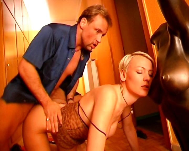 Porn Tube of Short Haired German Ho Sucks Off Her Lover's Cock After Sex