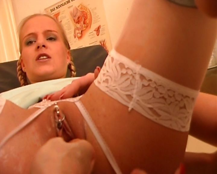 Porno Video of German Nurse Gets Her Pussy Stuffed With An Inflatable Plug