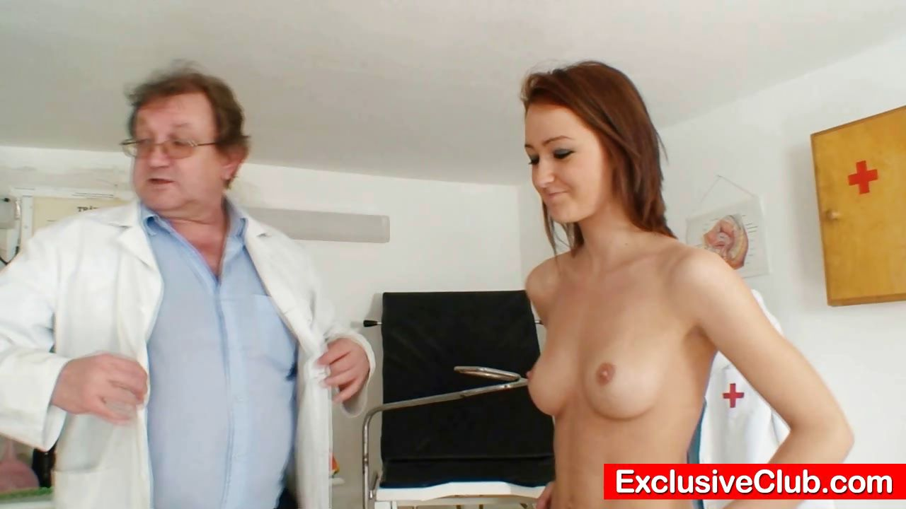Porn Tube of Skinny Teen Extreme Pussy Gape By Filthy Doctor