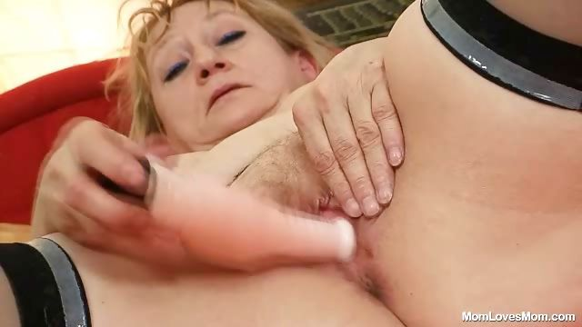 Porn Tube of Dirty Old Grandma Pussy Spreading And Masturbation