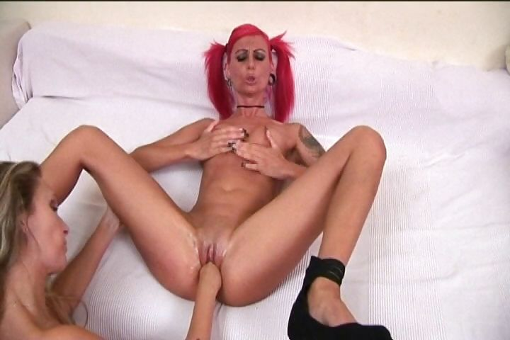 Porn Tube of Pain-loving Pink-haired Punk Babe Gets It Off On Getting Fisted
