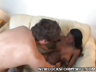 Porno Video of Ebony Housewife Interracial Banging