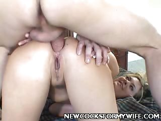 Sex Movie of Housewife Enjoys Anal Knobbing