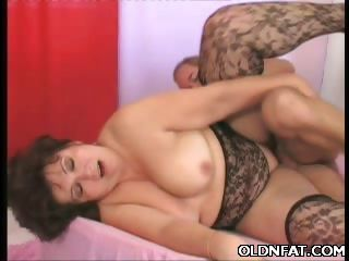 Porn Tube of Fat Mature Ass Tapped