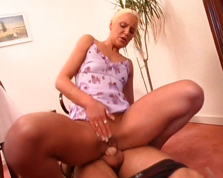 Sex Movie of A German Whore In Tiny Braids Blows And Fucks An Older Man