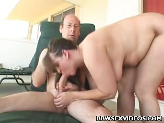 Porn Tube of Cock Slurping Bbw Jamie Love