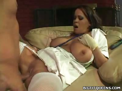 Porno Video of Cock Riding Big Tit Nurse