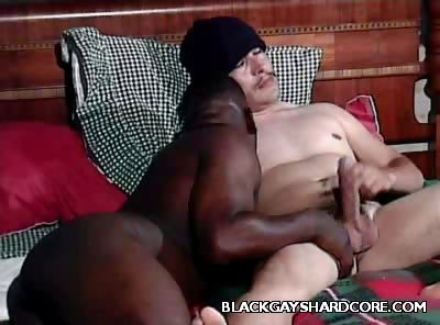 Porno Video of Black Gay Mouthing A Cock